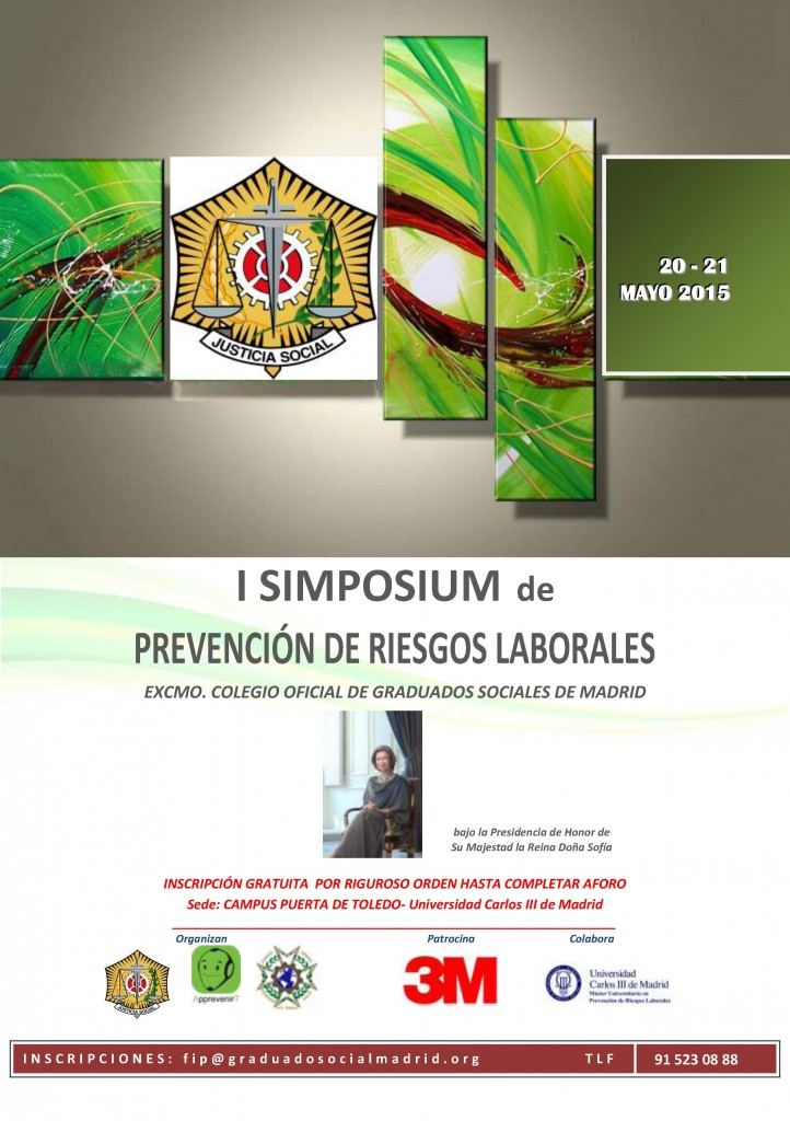 CARTEL I SIMPOSIUM PRL 2015
