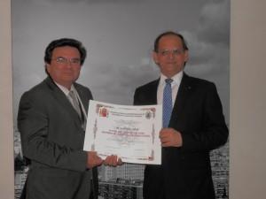 D. Rafael Ruiz Calatrava y D. Zuher Handar