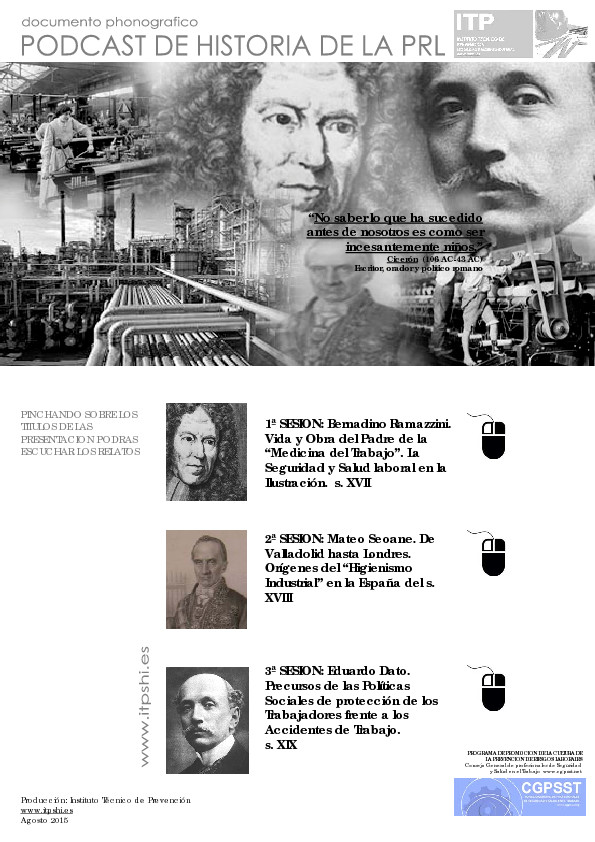 thumbnail of Historia de la Prevencion