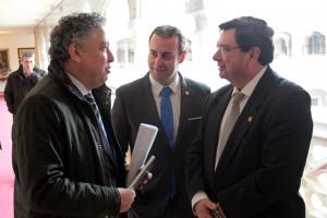 Foto con Tomás Burgos