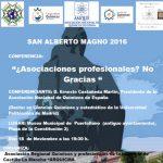 Cartel Conferencia dia San Alberto Magno 2016-2