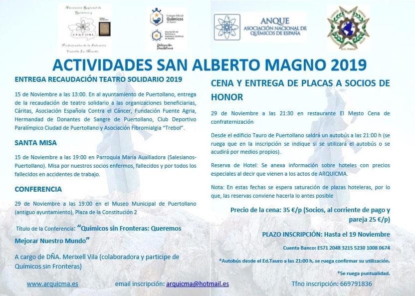 San Alberto Magno 2019