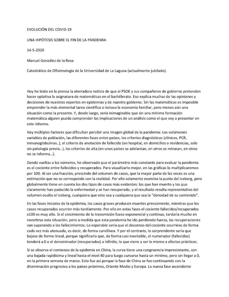 thumbnail of EVOLUCION DEL COVID a 17-5-2020 HIPÓTESIS CON COROLARIO-1