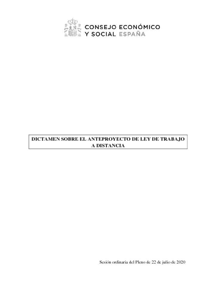 thumbnail of Dictamen CES ANPL Trabajo Distancia Dict022020